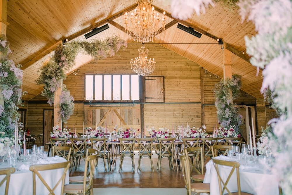 """Image by <a class=""""text-taupe-100"""" href=""""https://www.wookiephotography.com/"""" target=""""_blank"""">Amy O'Boyle Photography</a>   Wedding Planning by <a class=""""text-taupe-100"""" href=""""http://www.katrinaotterweddings.co.uk"""" target=""""_blank"""">Katrina Otter Weddings</a>."""