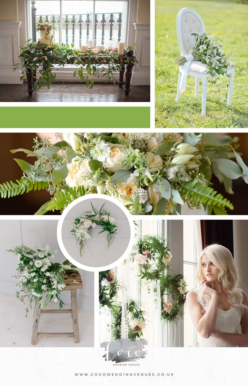 how-to-incorporate-the-pantone-colour-of-the-year-greenery-into-your-wedding-day-decor-moodboard