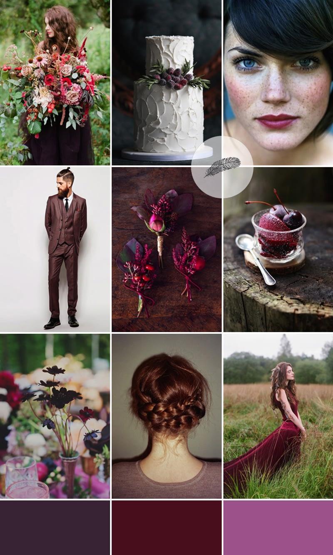 berry-boho-wedding-inspiration-coco-wedding-venues-colour-palette