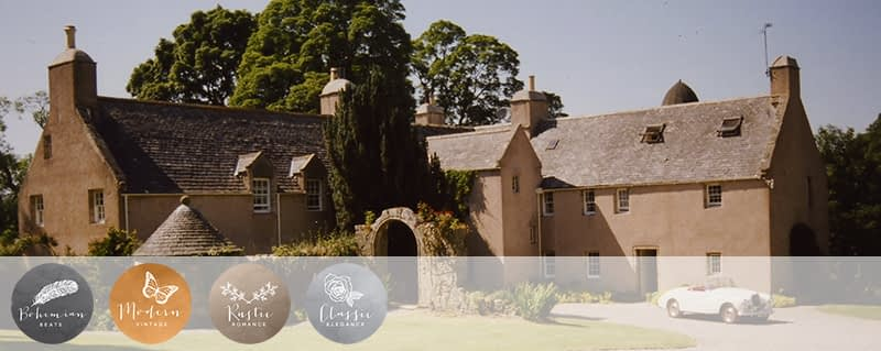 Coco Wedding Venues in Scotland - Aswanley - Image by Pepper Photography.