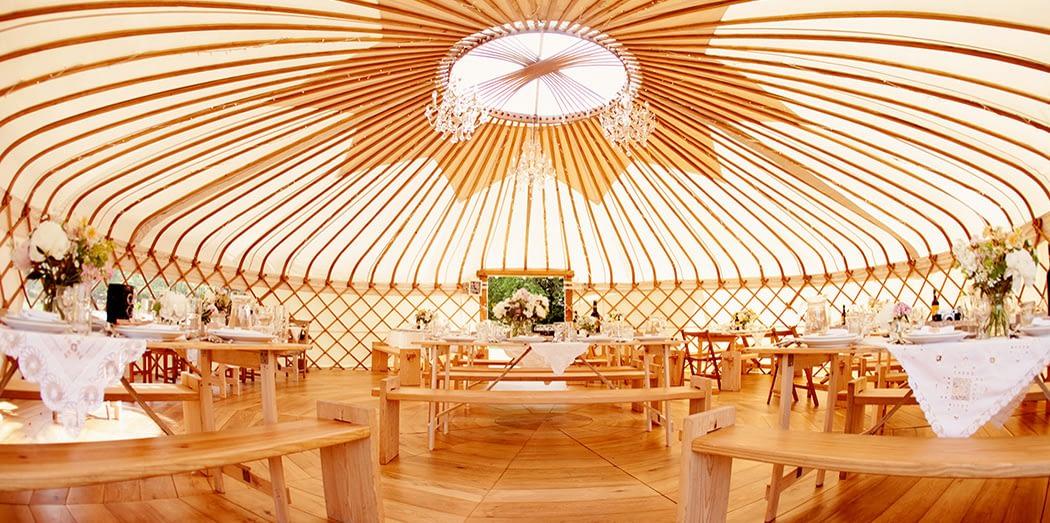 Wedding Yurts Open Weekend