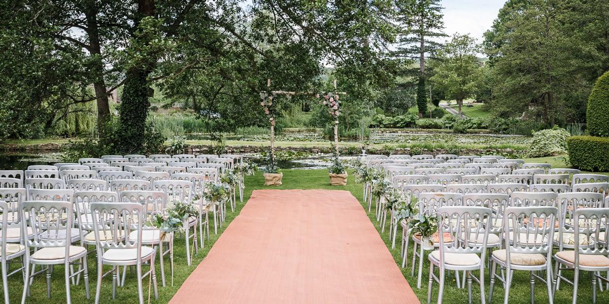 Summer Wedding Showcase Weekend at Brinsop Court
