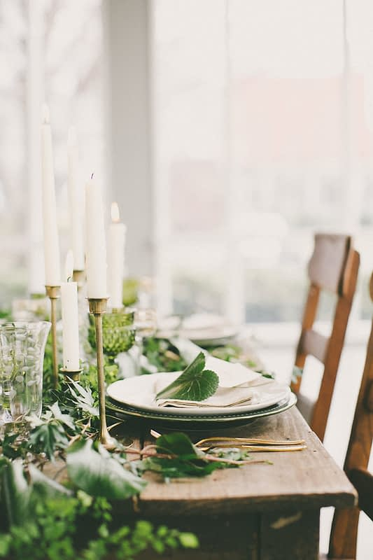 The 2017 Wedding Trend Report - Strong Statement Greens.