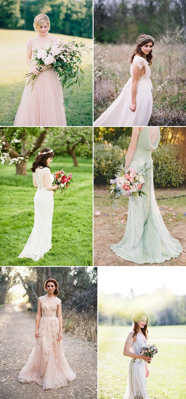Coco Wedding Venues - Rustic Romance Wedding Style - Bridal Fashion.