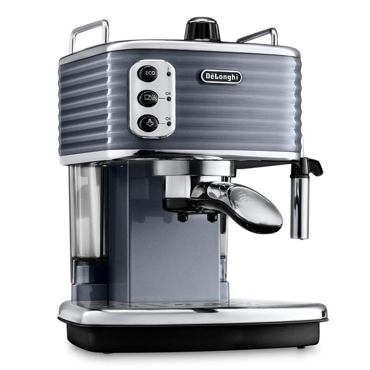 DeLonghi Scultura Espresso Machine, Gunmetal, £199.99.