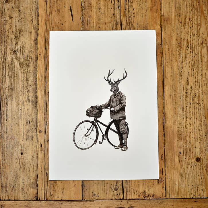 Ben Rothery Stanley Print A3, £30.
