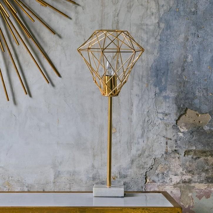 Graham & Green Diamond Wire Table Light - £79.00