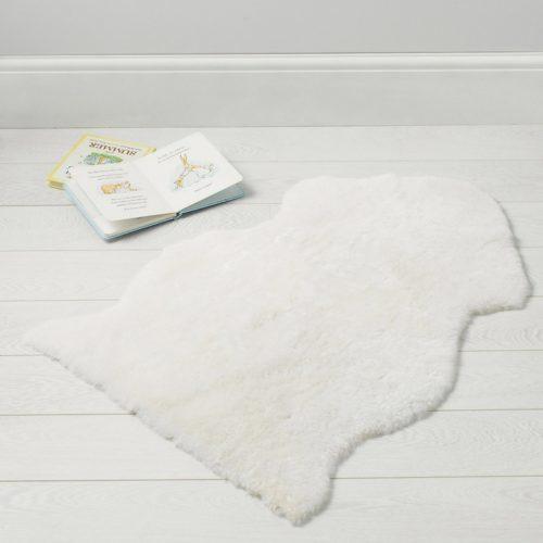 The White Company Sheepskin Rug - £65.00.