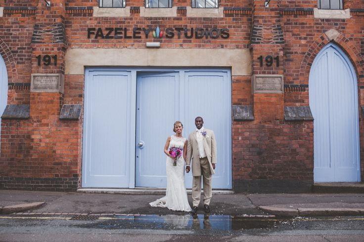 Coco Wedding Venues - City Chic Wedding Style - Fazeley Studios.