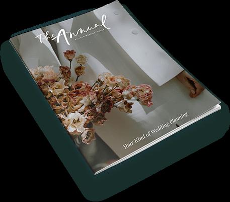Coco wedding planning magazine cover