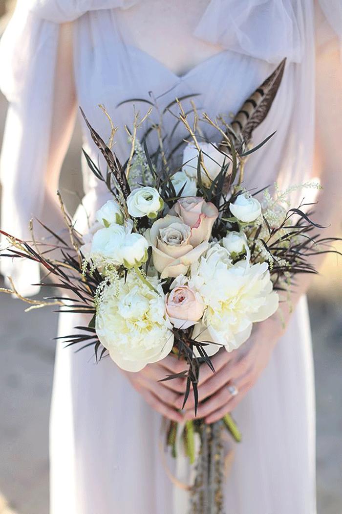 10 Bohemian Bridal Bouquets Coco Wedding Venues