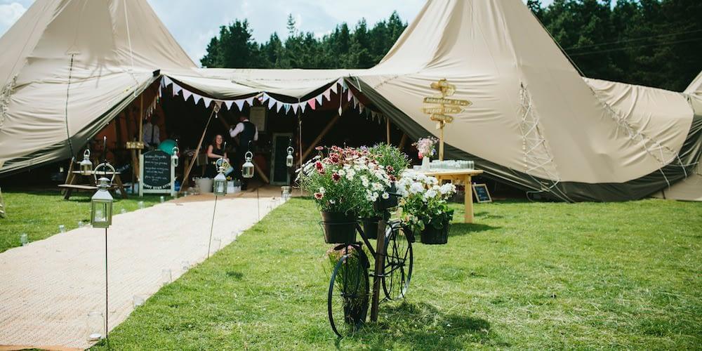 Sami Tipi Wedding Open Day
