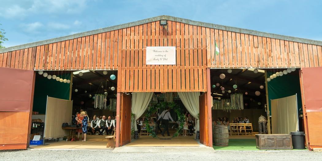 The Wedding Barn Wedding Fayre at Gwaenynog Farmhouse