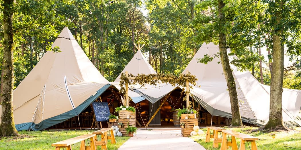 Coastal Tents Wedding Open Weekend