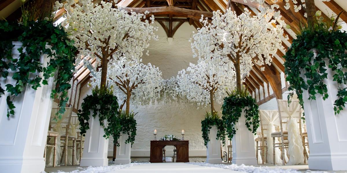 Spring Wedding Showcase at Dartington Hall