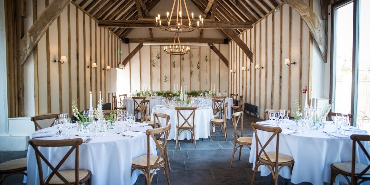 Wedding Open Day at Kimbridge Barn