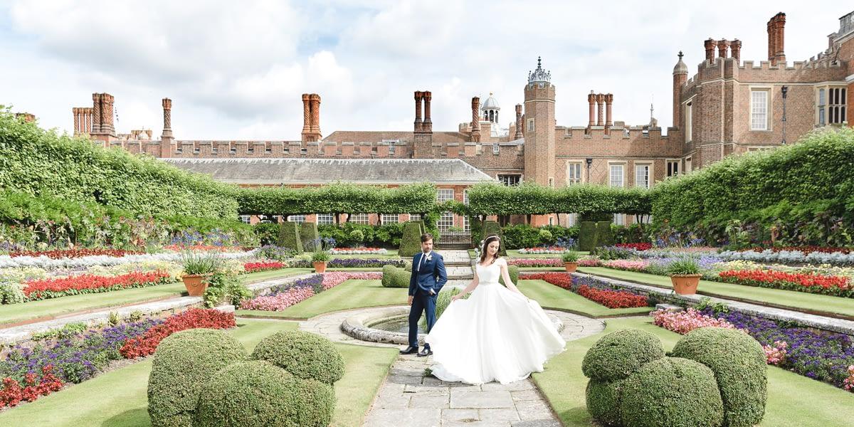 Hampton Court Palace Wedding Showcase
