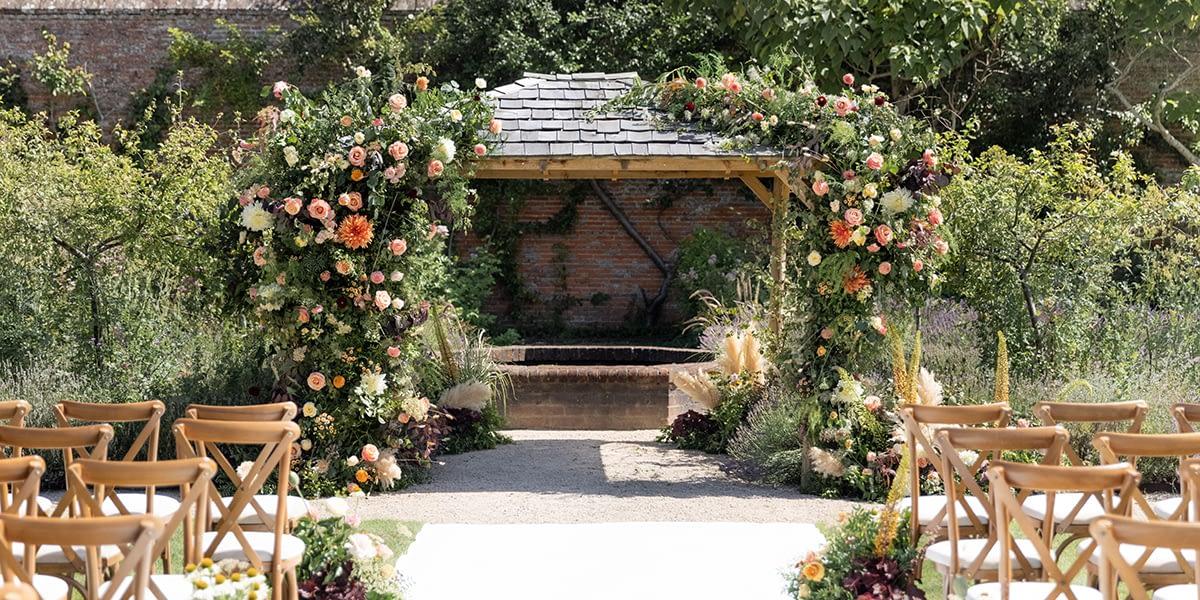 Cowdray Wedding Showcase at The Walled Garden