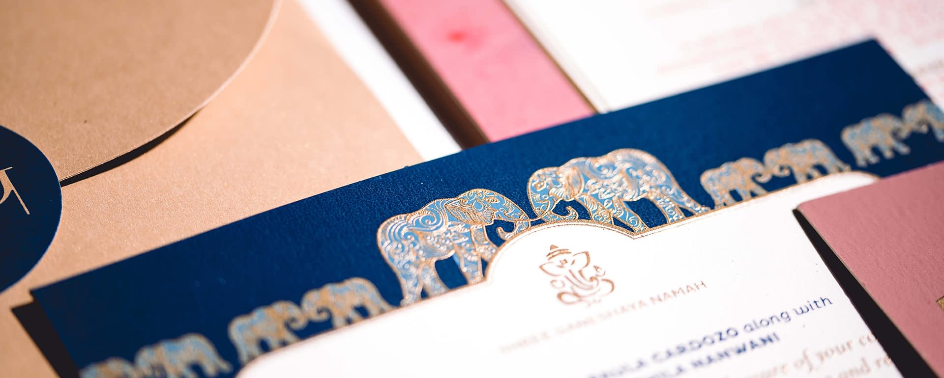 Weaving Your Cultural Story into Your Wedding Stationery