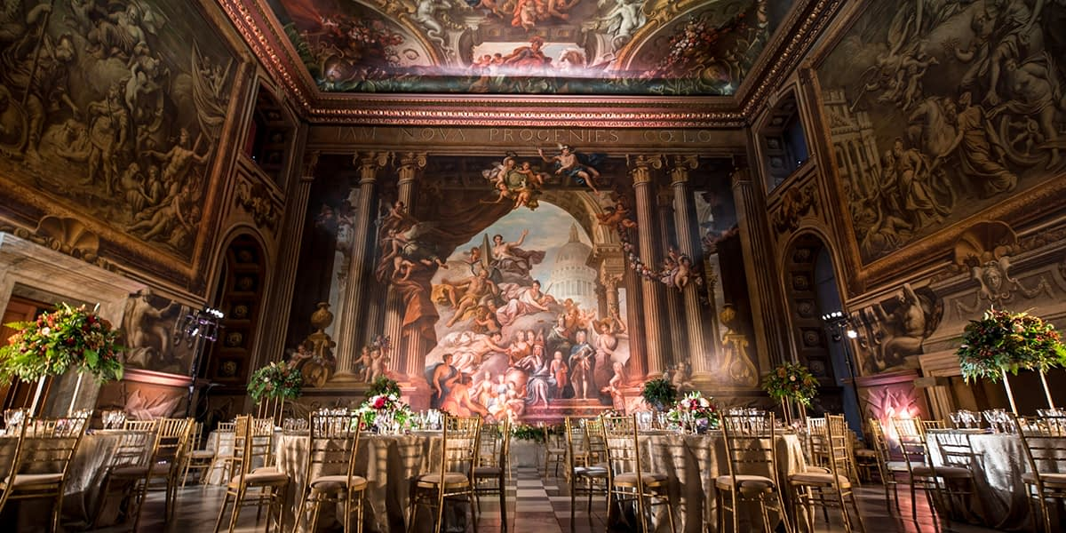 Virtual Wedding Showcase by The Old Royal Naval College + Friends