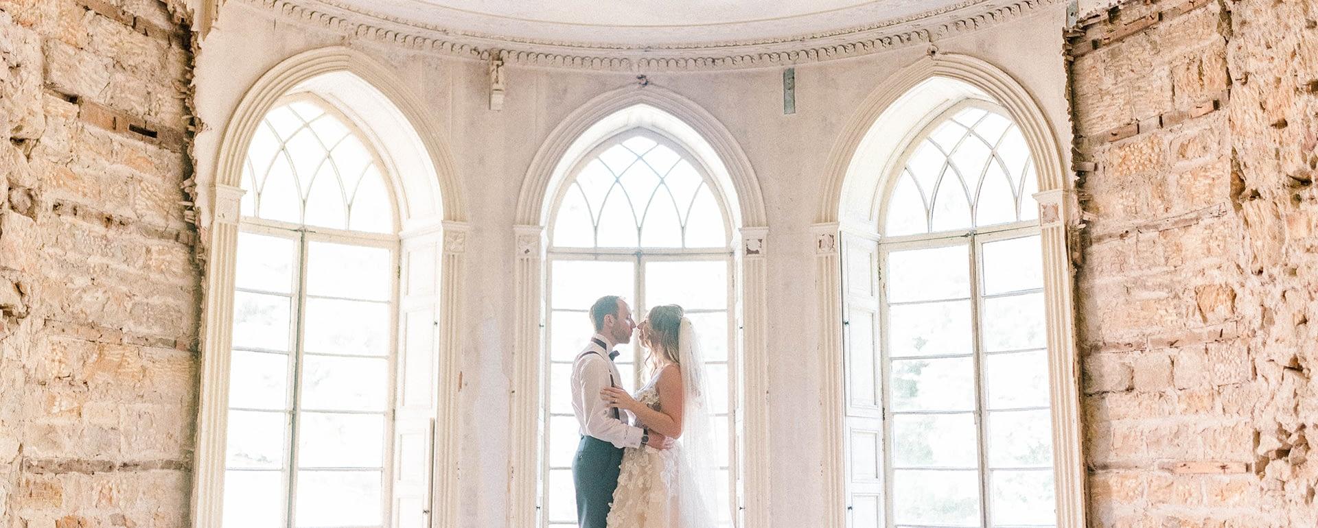 David & Rachael's Brinkburn Northumberland Wedding