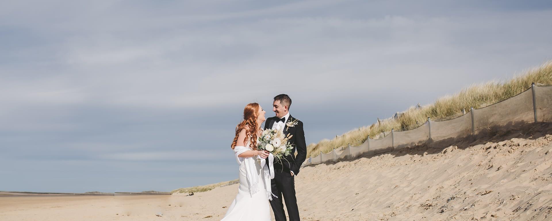 Coastal Wedding Showcase at Titchwell Manor