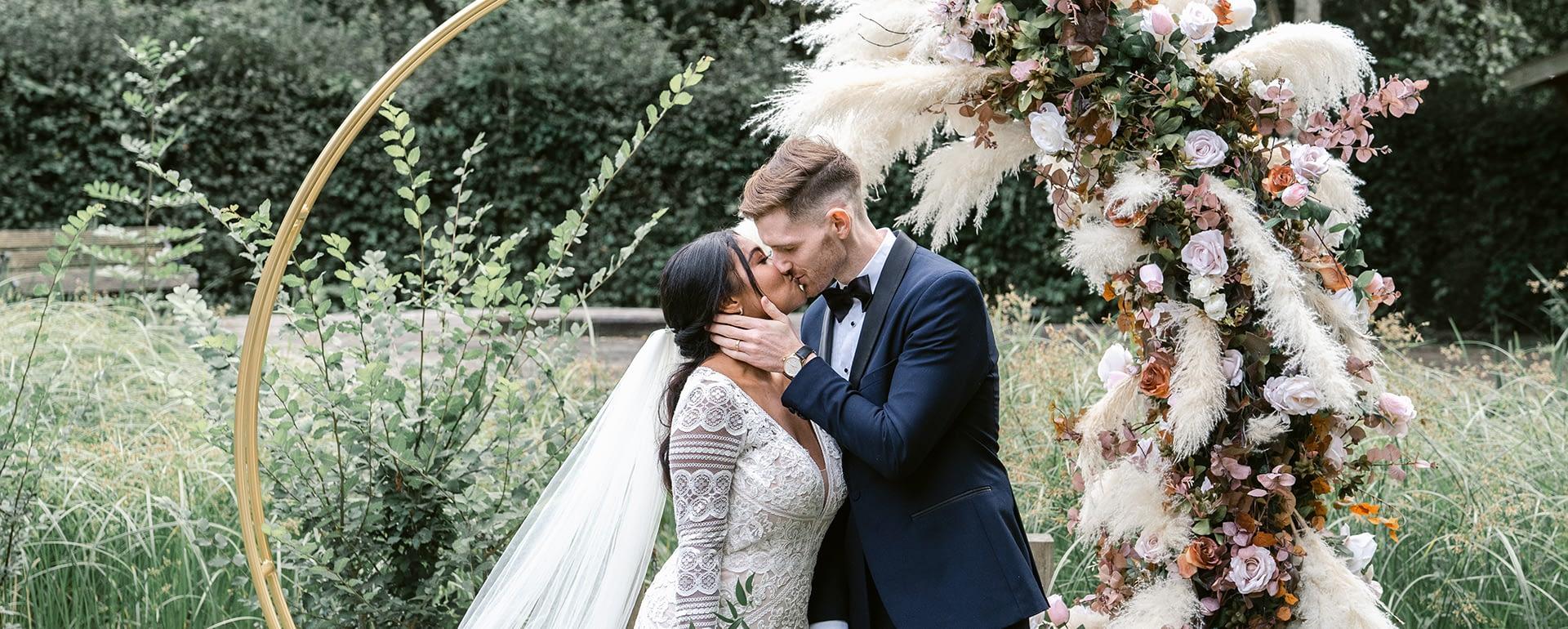 Autumnal Boho Wedding Inspiration at Oakfield Gardens