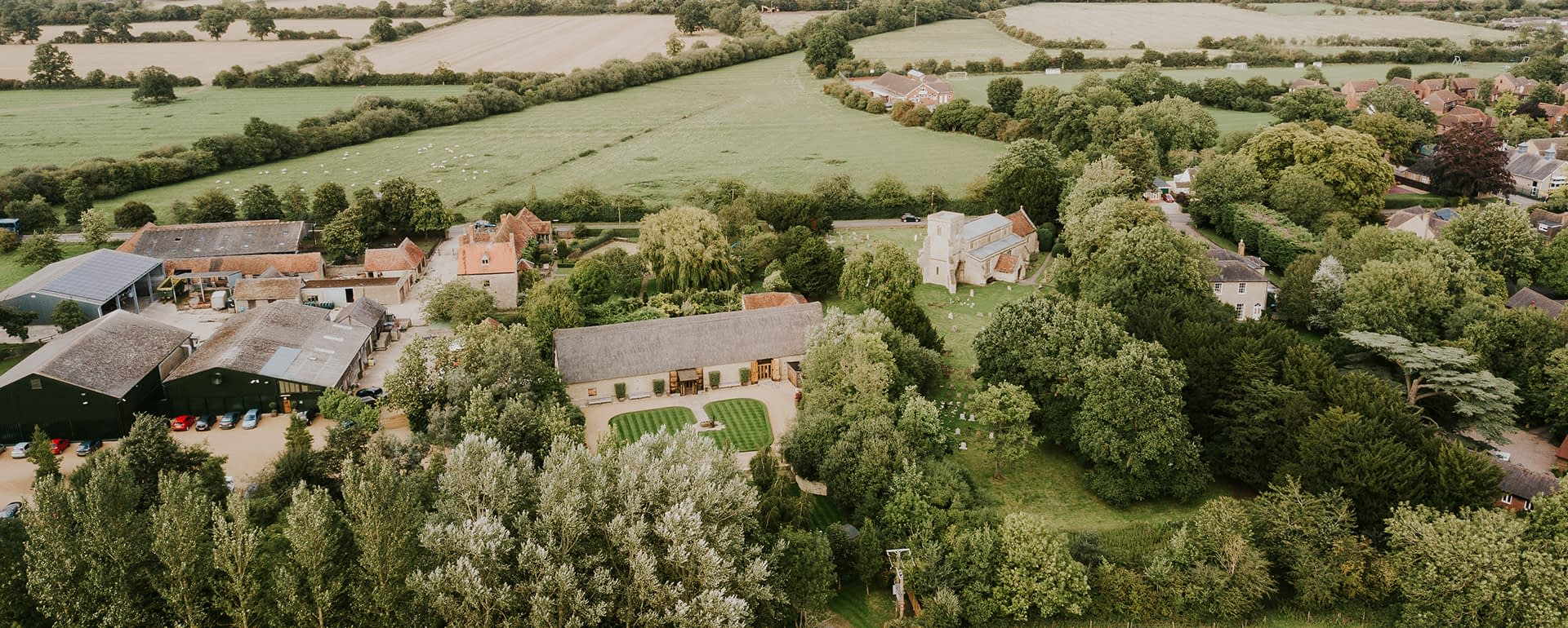 The Inspiration – Farmhouse at The Tythe Barn